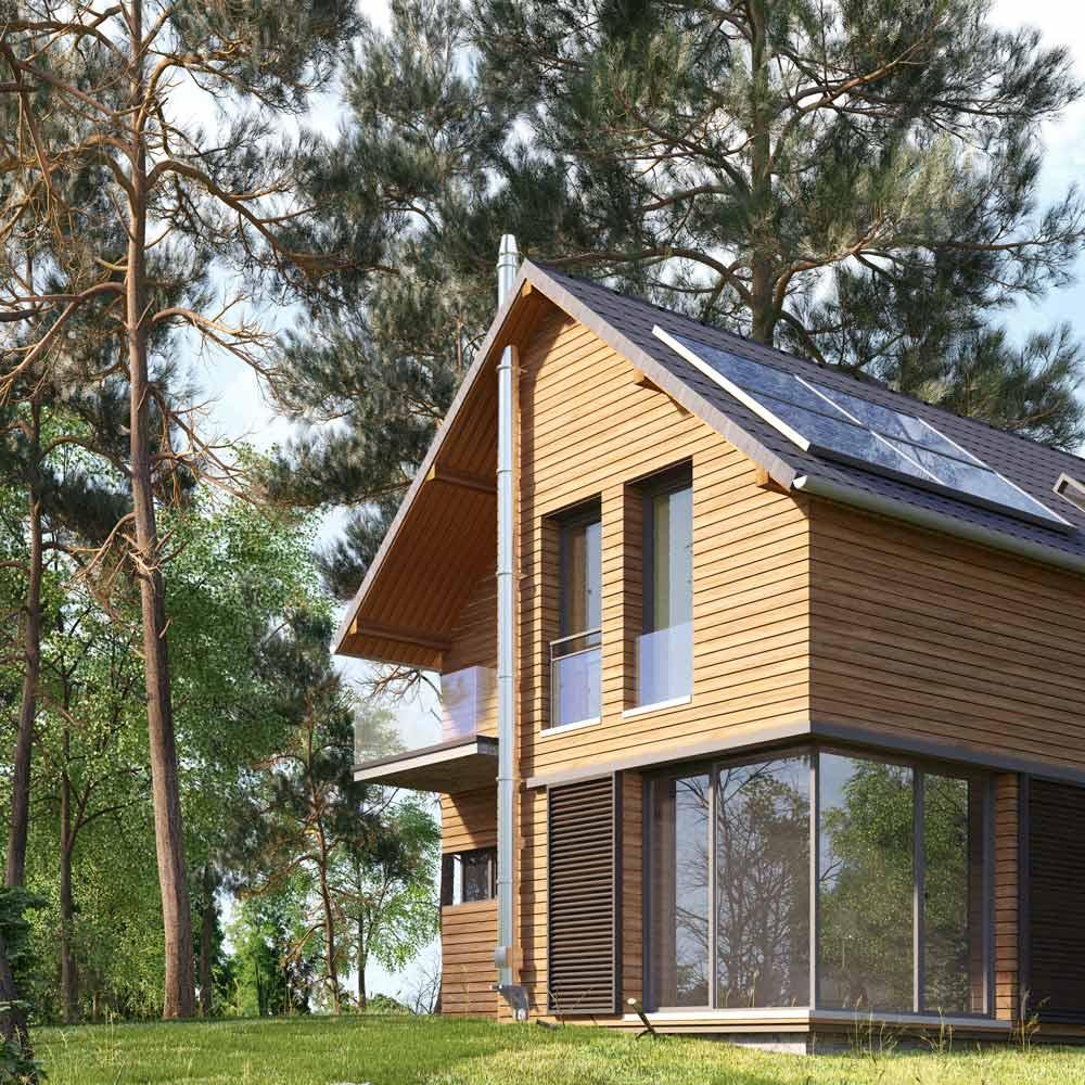 Haus in Natur